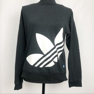 Adidas Originals Trefoil Logo Long Sleeve Crewneck